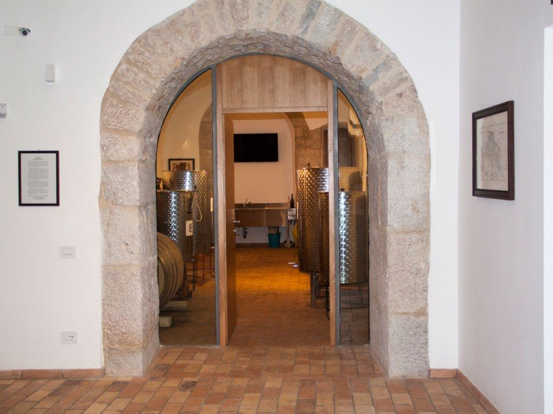 The Palazzo enclosed cellar, where great natural wine comes to life - Wine stay in Italy